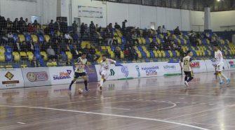 Goleada Histórica no Ney Braga (divulgação/SJP Futsal)