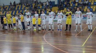 William Cunha marcou o gol dos são-joseenses (Divulgação/SJP Futsal)