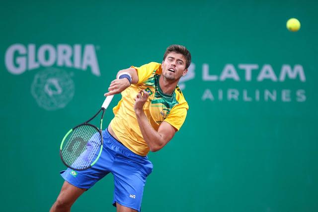 João Menezes vence no quali e está próximo da chave principal do US Open (Divulgação/Rede do Esporte)