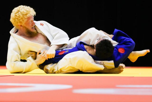Luan Pimentel, ouro na categoria até 73kg (Alexandre Schneider/CPB)