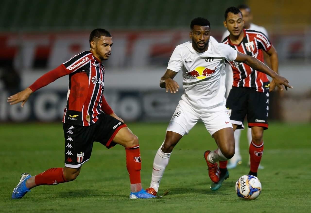 Braga ficou no zero contra o Botafogo-SP (divulgação/CAB)