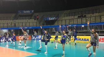 Brasil treina em Suzano (divulgação/CBV)