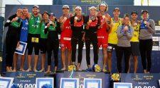 Brasil com dois vice-campeonatos no circuito mundial em Moscou (divulgação/CBV)