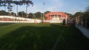 Bitoca converteu sua penalidade na vitória diante do Capão Raso, pelas quartas de final (José Leal/Cultura 930)