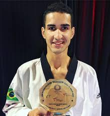 Netinho é o primeiro classificado (divulgação/CBTKD)