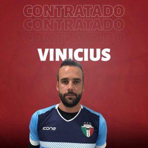 Vinicius é o novo goleiro do Trieste (divulgação/Trieste)