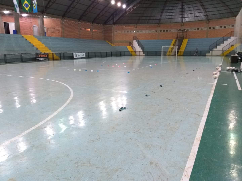 Colombo Futsal em ação na temporada 2019 (divulgação/Colombo Futsal)