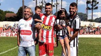 família Baroni Reunida no Operário Pilarzinho (divulgação/OPSC)