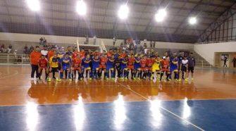 Fazenda Futsal em amistoso (divulgação/Boletim Esportivo)