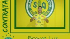 Brayan Luz, novo atacante auriverde (divulgação)
