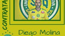 Diego Molina é o novo goleiro do Santa Quitéria (divulgação/Santa Quitéria)