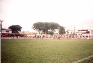estádio Ismael Gabardo (divulgação/Equipe Rolando a Bola)