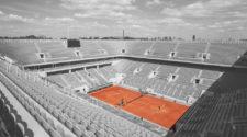 quadra principal do complexo de Roland Garros (Reprodução/Twitter)
