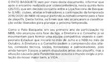 Gerson Movio, supervisor do Pato Futsal (divulgação)