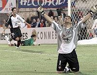 nos pênaltis, Atlético eliminou Cerro Porteño pelas oitavas de final (divulgação/Reuters)