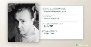 Stanislaw Ponte Preta (divulgação)