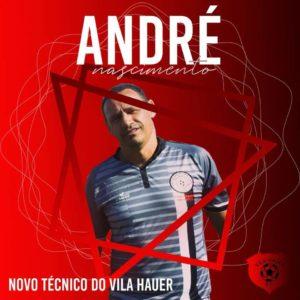 André Nascimento, novo técnico do Pantera (divulgação)