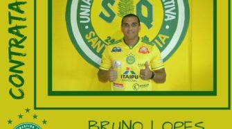 Atacante Bruno Lopes já atuou pelo Estoril, de Portugal (divulgação)