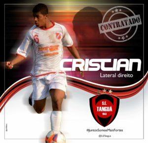 Cristian Coelho, reforço do Tanguá (divulgação)