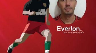 Everton, reforço ofensivo do Vila Hauer (divulgação)