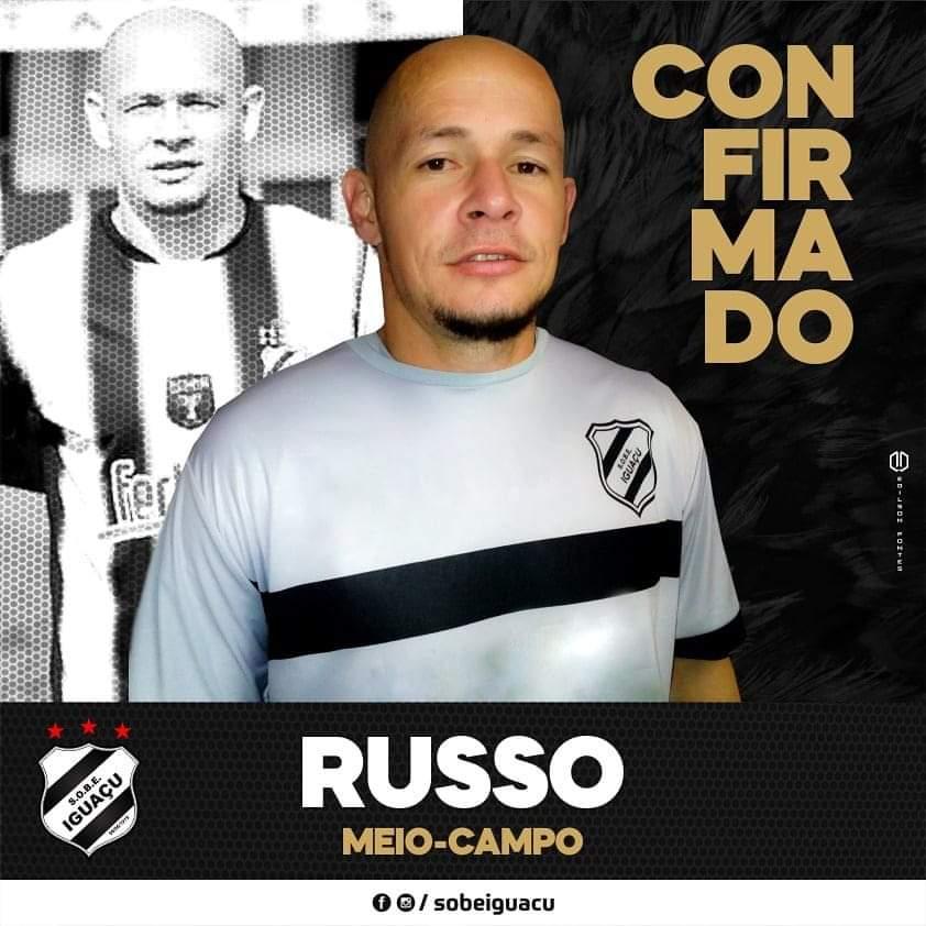 Russo, volante contratado pelo Iguaçu (divulgação)