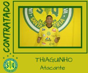 Thiaguinho teve passagens por Iguaçu, Vila Sandra e Trieste (divulgação)