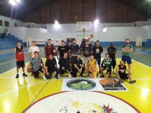 os treinos do Quebrada do Basquete nas segundas (divulgação)