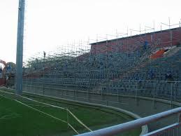Arquibancadas tubulares na Arena (divulgação/Furacao.com)